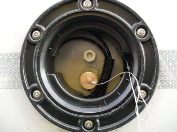 Messpunkt des Kippauflieger, thermoisoliert mit 3 Achsen.