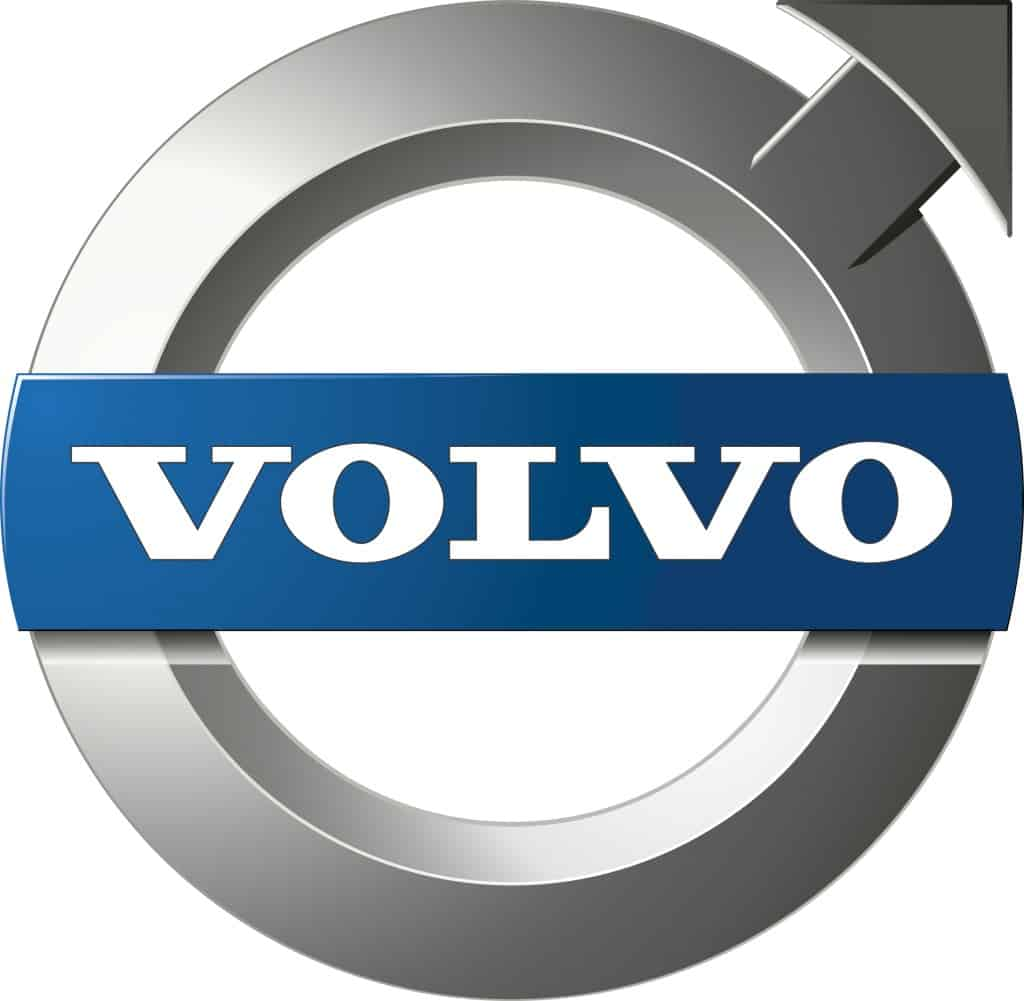 Das transparente Logo von Volvo Trucks.